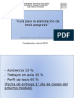 Guia Para La Elaboracion de perfil de tesis