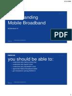 Undestanding Mobile Broadband