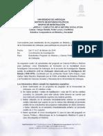 Convocatoria Febrero IEP FCSH