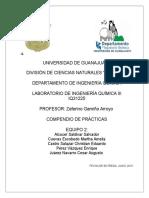 Compendio de Reportes ingenieria quimica