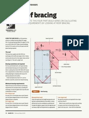 Build-134-36-Design-Right-Roof-Bracing pdf | Roof | Framing