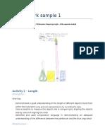 activity 1 - ariel - evidence portfolio