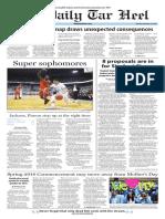 The Daily Tar Heel for Feb. 22, 2016