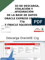 Manual Intalacion Oracle Express 11g y SQL Developer