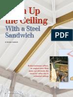 Ceiling Steel Sandwich