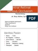 Central Retinal Venous Occlusion