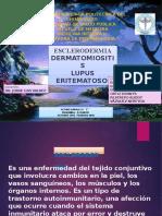 ESCLERODERMIA-LUPUS  ERITEMATOSO SISTEMICO Y DERMATOMIOSITIS