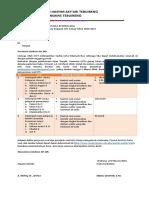 Surat Pemberitahuan UTS
