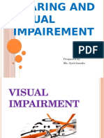 Hearing and Visual Impairement