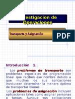 Transporte y Asignacion