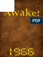 Awake! - 1966 issues