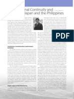 Constitutional Continuity and Change in Japan and the Philippines
