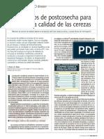 PDF Vruralpostcosecha Cerezas