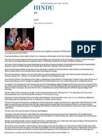 A Ballet That Celebrates Tamil - Delta - The Hindu