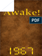 Awake! - 1967 issues