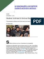 Protestas Nov15 Universidad Derechos Civiles