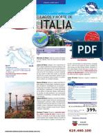 Lagos y Norte Italia RINCONADA