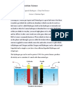 Liquid Hydrogen Fuel Source (Christian Science PAPER)
