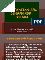 Keterkaitan SPM Dengan RSB-RBA