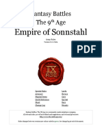 The Ninth Age Empire of Sonnstahl 0 11 1