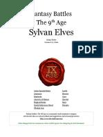 The Ninth Age Sylvan Elves 0 11 1