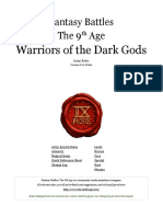The-ninth-Age Warriors of the Dark Gods 0-11-0