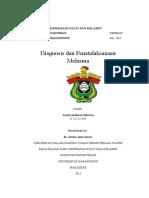Diagnosis Dan Penatalaksanaan Melasma