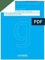 CONABIP-guia Para Realizar Una Campana de Concientizacion
