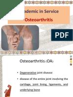 Drug Used in Osteoarthritis