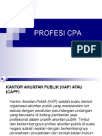 Profesi Cpa & Standar Auditing