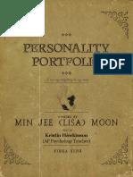 personality portfolio