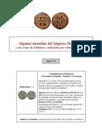 Algunas Monedas Del Imperio Bizantino POR VARIOS TIPOS de EXAMEN