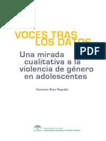 Voces Tras Datos Mirada Cualitativa Violencia Genero Adolescentes