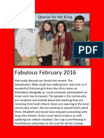 Qu4King Feb 2016 Newsletter