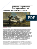 Sinpermiso-reino de Espana La Delgada Linea Roja Que Separa La Presidencia Del Gobierno Del Batacazo Politico-2016!02!22