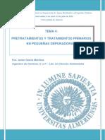 Tema 4_Pretratamiento y Tratamiento Primario