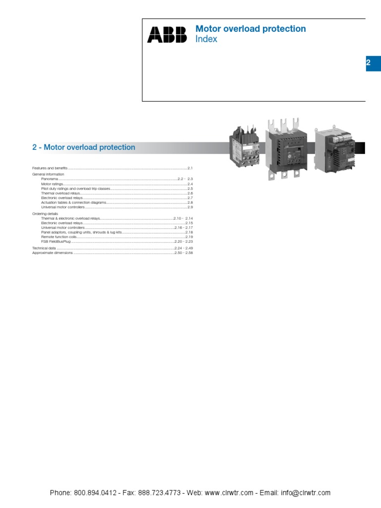 Abb Overload Protection Relay Power Supply Free Download Af75 Wiring Diagram