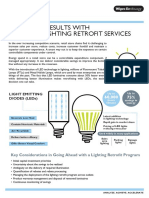 Energy Saving Solutions in Managed Lighting Retrofit Services