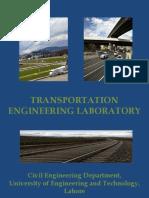Transportation Engineering Laboratory 1