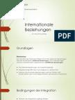 Internationale Beziehungen als Intergrationsgefüge