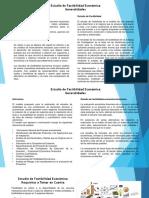 Estudio de Factibilidad Económica