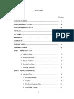 5. DAFTAR ISI, Tabel, Gambar
