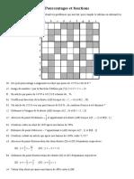 Pourcentages Et Fonctions
