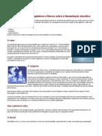 Influência Dos Agentes Químicos e Físicos Sobre a Fermentação Alcoólica