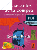 """Los secretos de la compra"", Lourdes March (Kailas Editorial)"