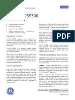 GE Power & Water CorTrol OS5300 Oxygen Scavenger Fact Sheet
