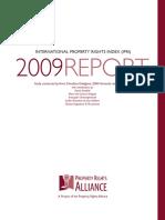 International Property Rights Index 2009
