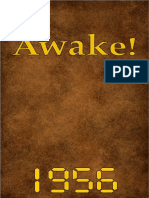 Awake! - 1956 issues