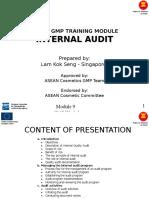 Interna Audit Module