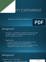 Viscosity Experiment